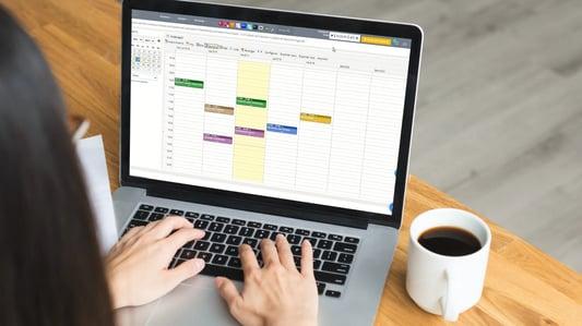 agenda de CRM de gestion de despachos
